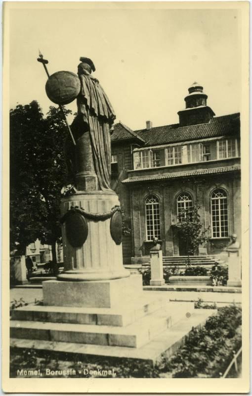Memel, Borussia-Denkmal