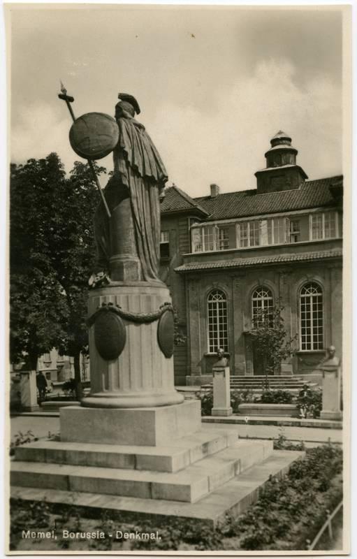 Memel, Borussia - Denkmal