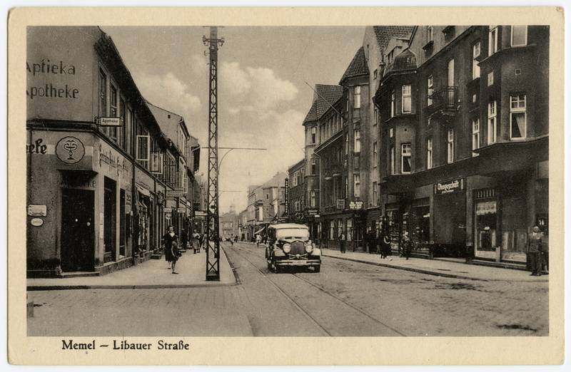 Memel - Libauer Straße