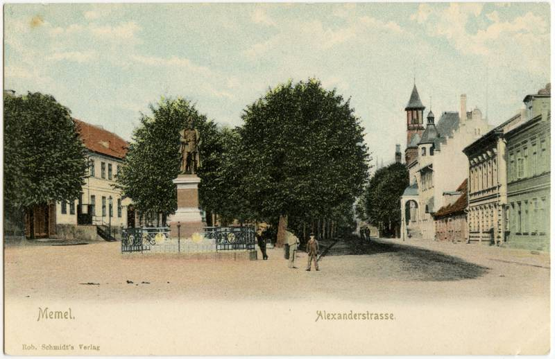 Memel. Alexanderstrasse