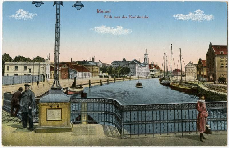 Memel: Blick von der Karlsbrücke