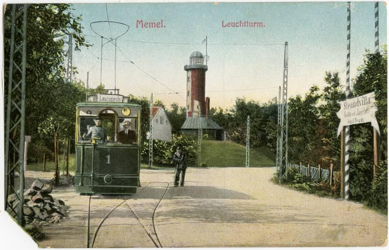 Memel. Leuchtturm