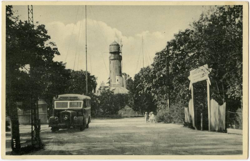 Memel, Am roten Leuchtturm