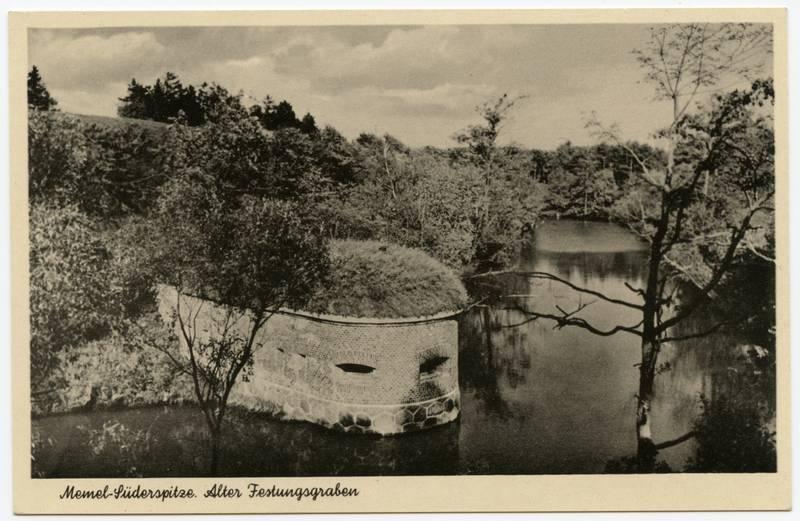 Memel - Süderspitze. Alter Festungsgraben