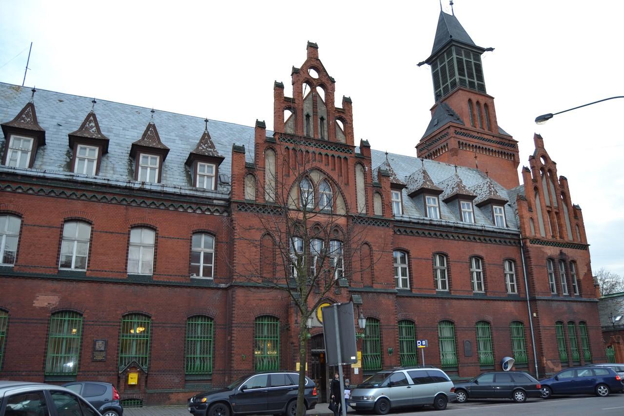 Klaipėdos pašto pastatas
