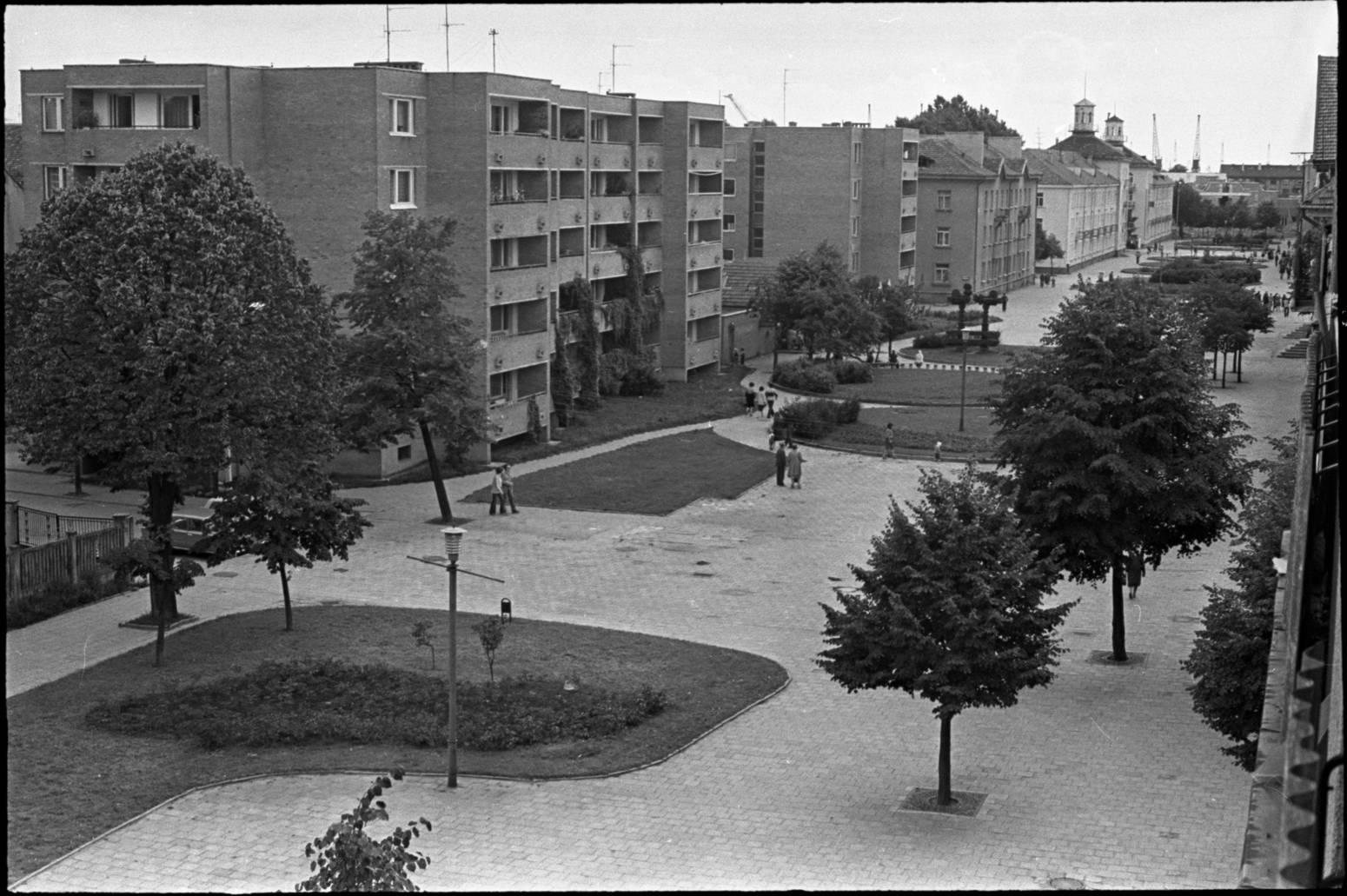 M. Mažvydo alėja 1978 metais