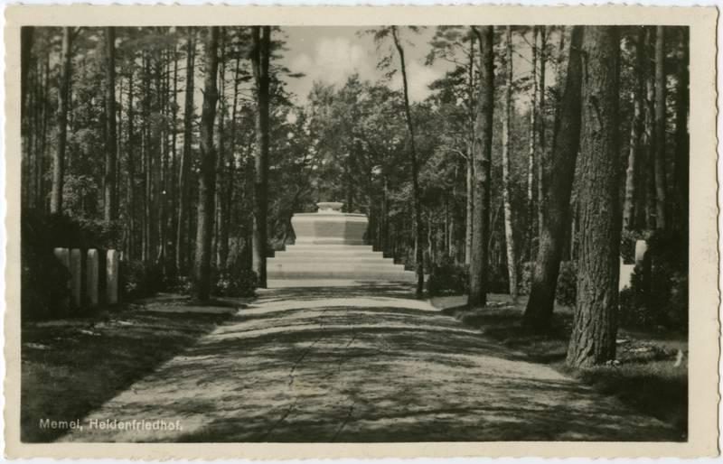 Memel, Heldenfriedhof