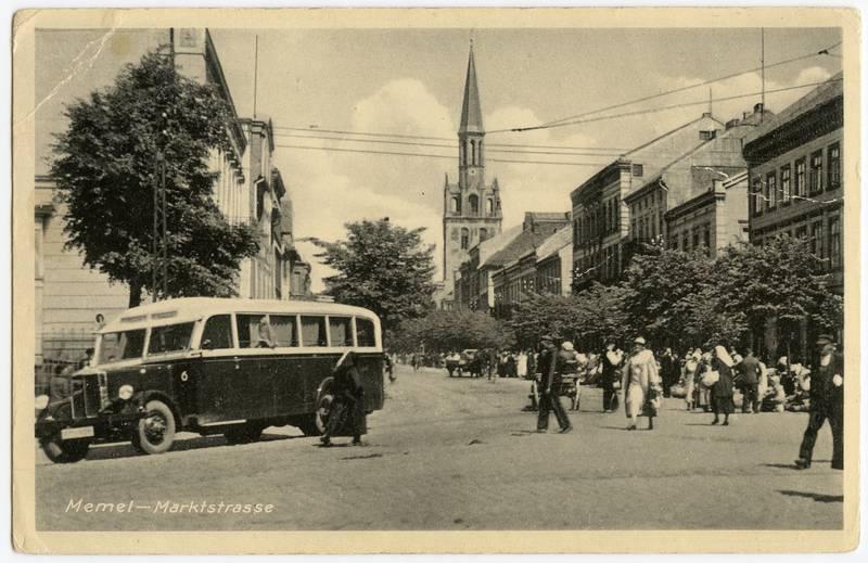 Memel - Marktstrasse