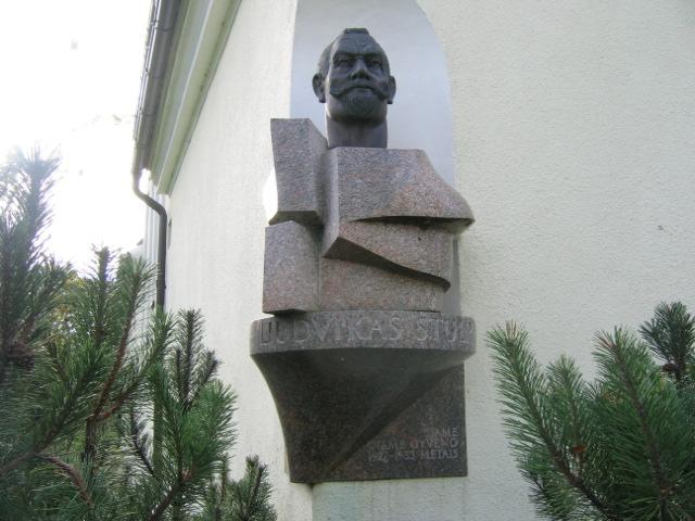 Skulptūrinis biustas Liudvikui Stulpinui