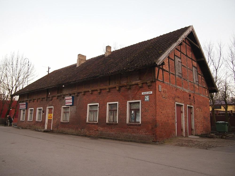 Bachmano dvaro fachverkinis ūkinis pastatas