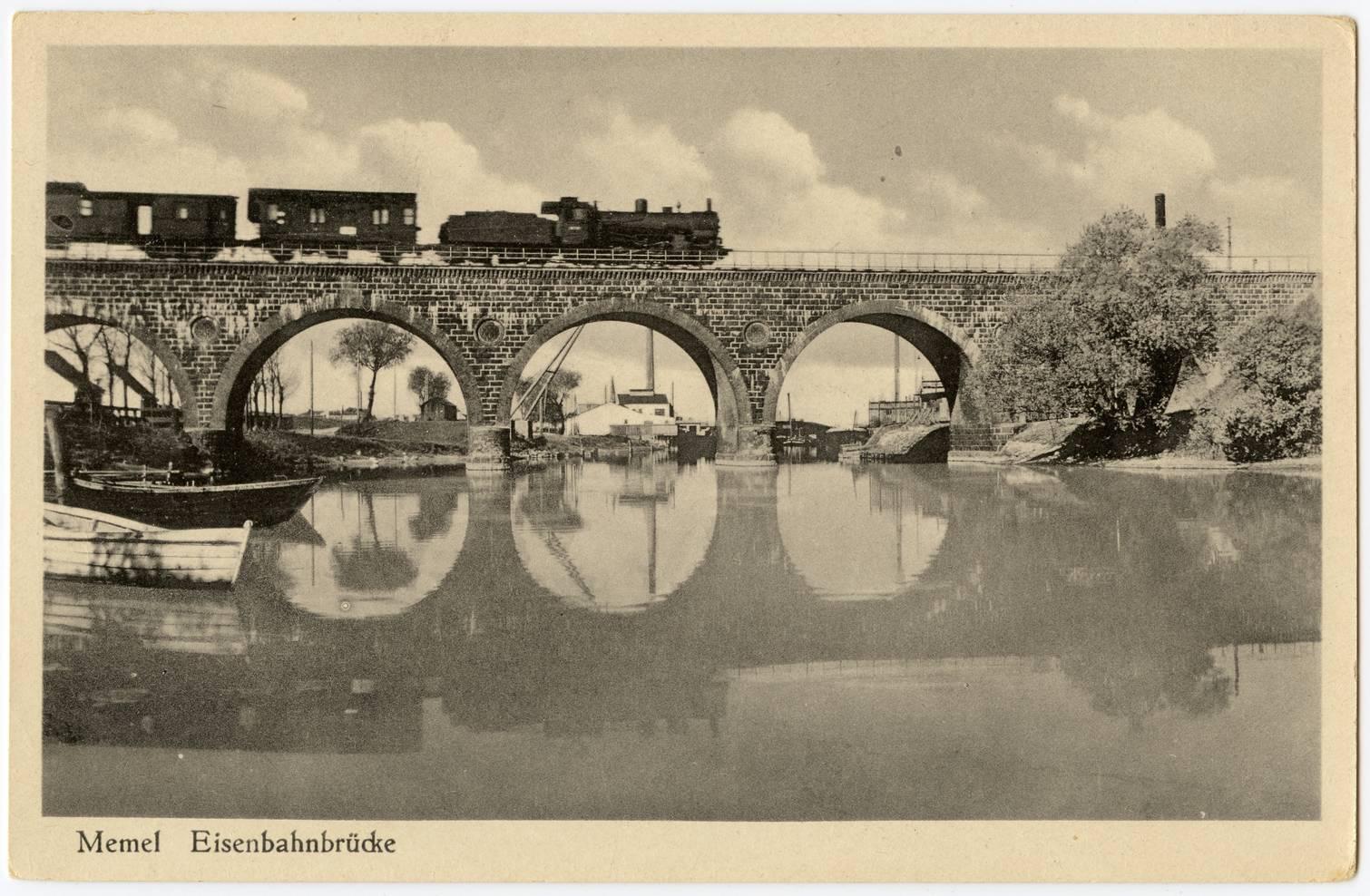 Memel Eisenbahnbrücke