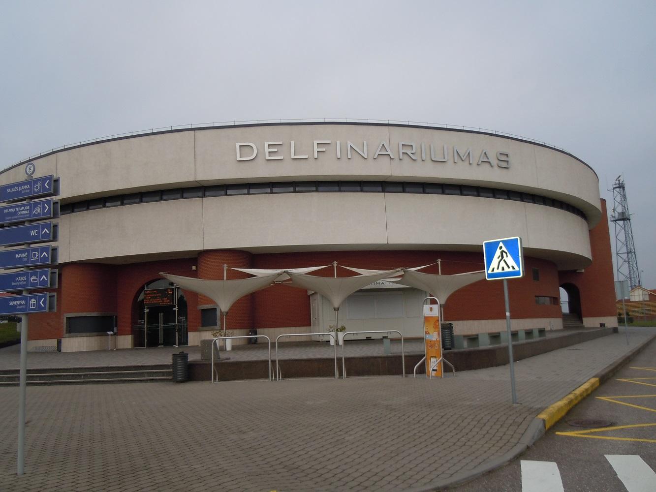 Delfinariumo pastatas