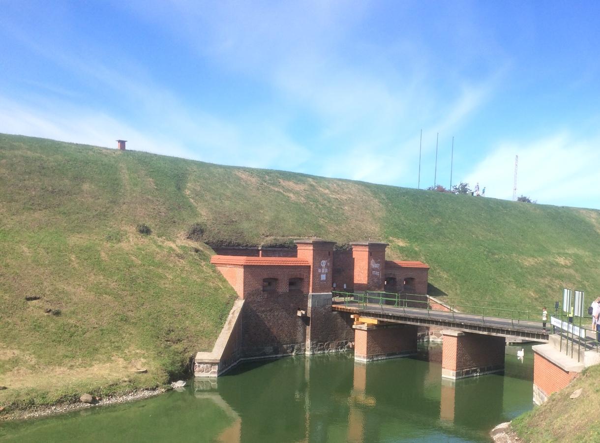 Įėjimas į Nerijos fortą