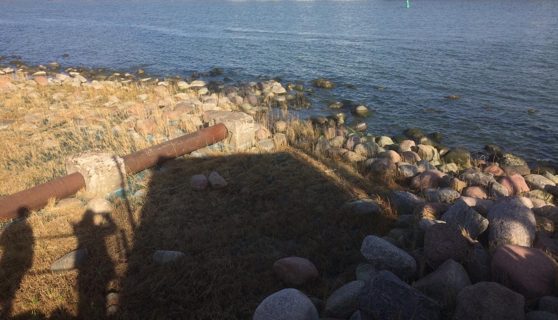 Pietinio jūrų molo liekanos
