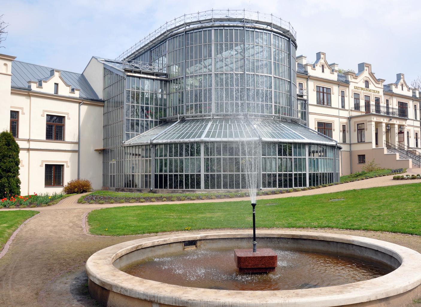 Kretingos dvaro parko pirmasis fontanas