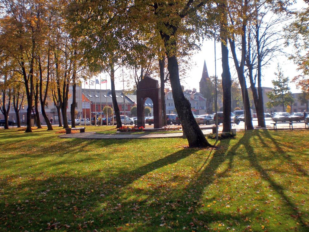 Suardytos šventvietės vieta Kretingos Rotušės aikštėje
