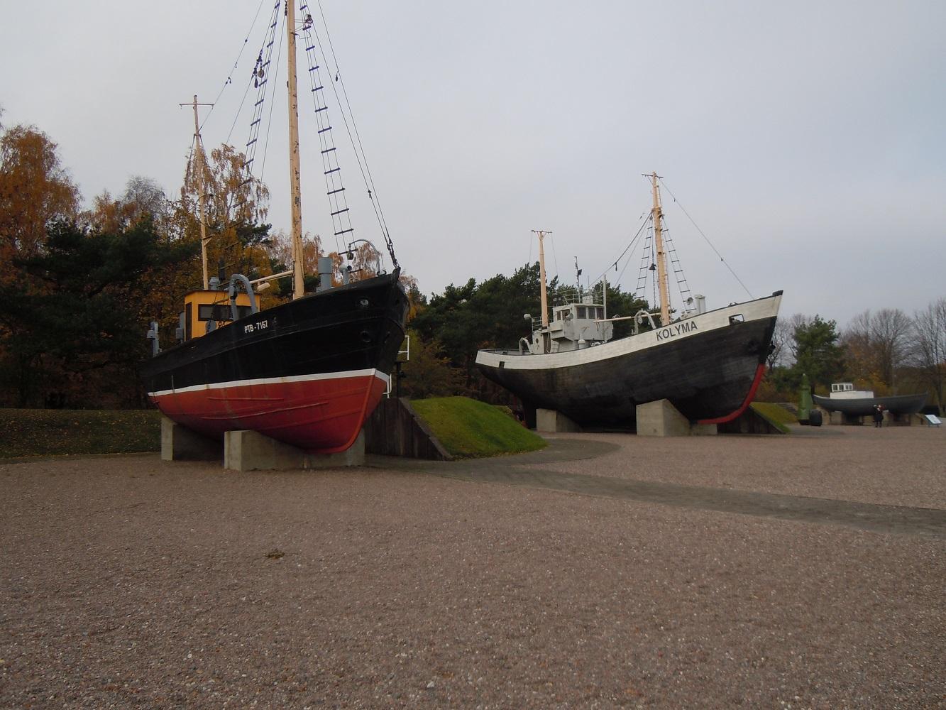 Žvejybos laivų ekspozicija