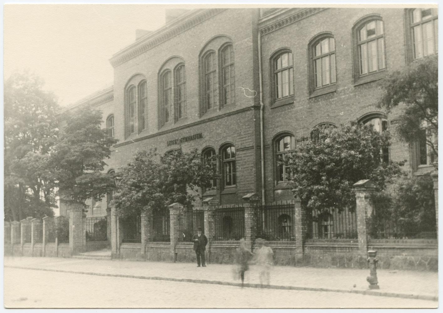 Königlich-Preussisches Luisen Gymnasium in Memel, Töpferstrasse