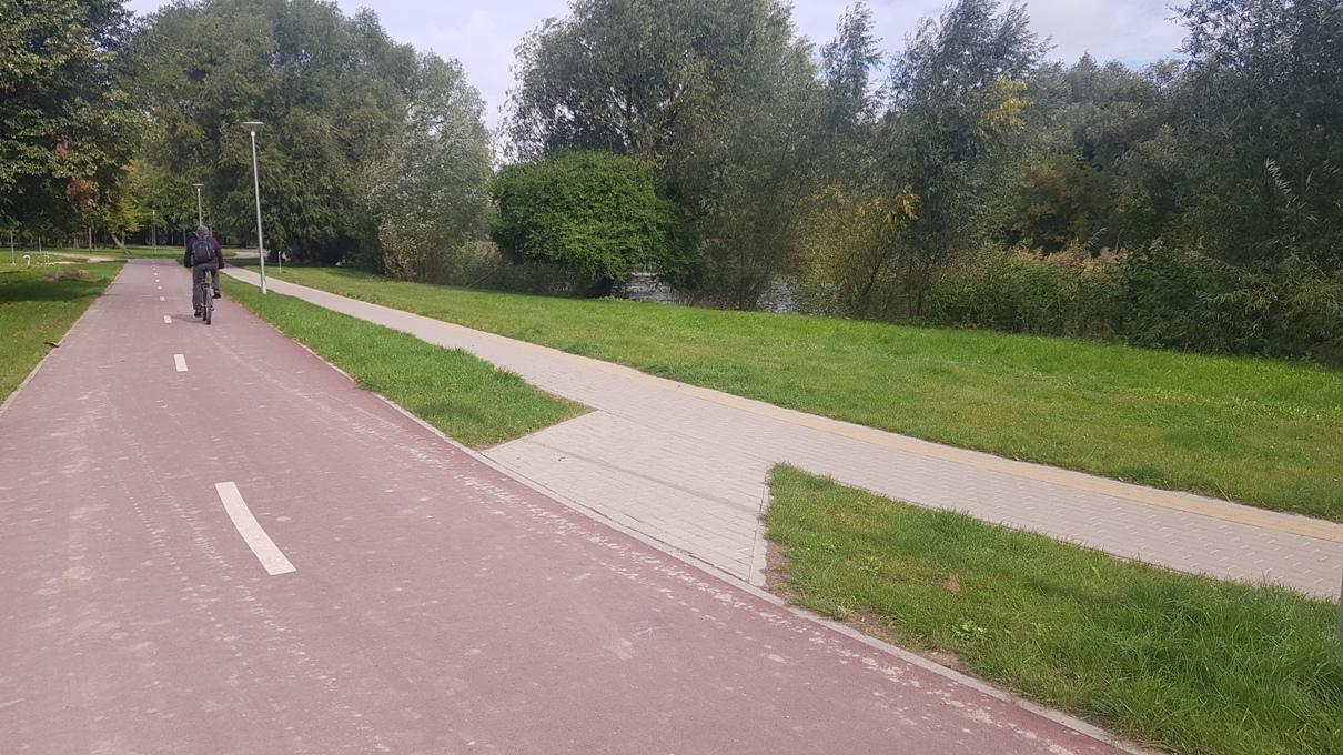 Malūno parko takai