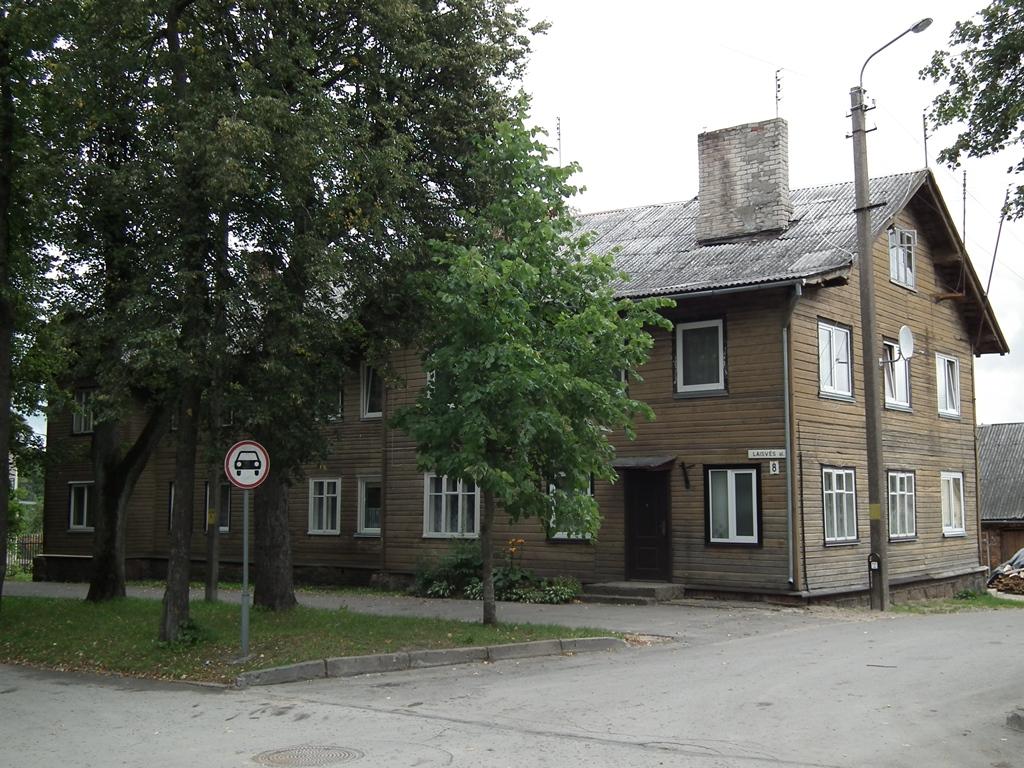 1918-1939 m. Plungės miesto tarybos pastatas Laisvės alėjoje