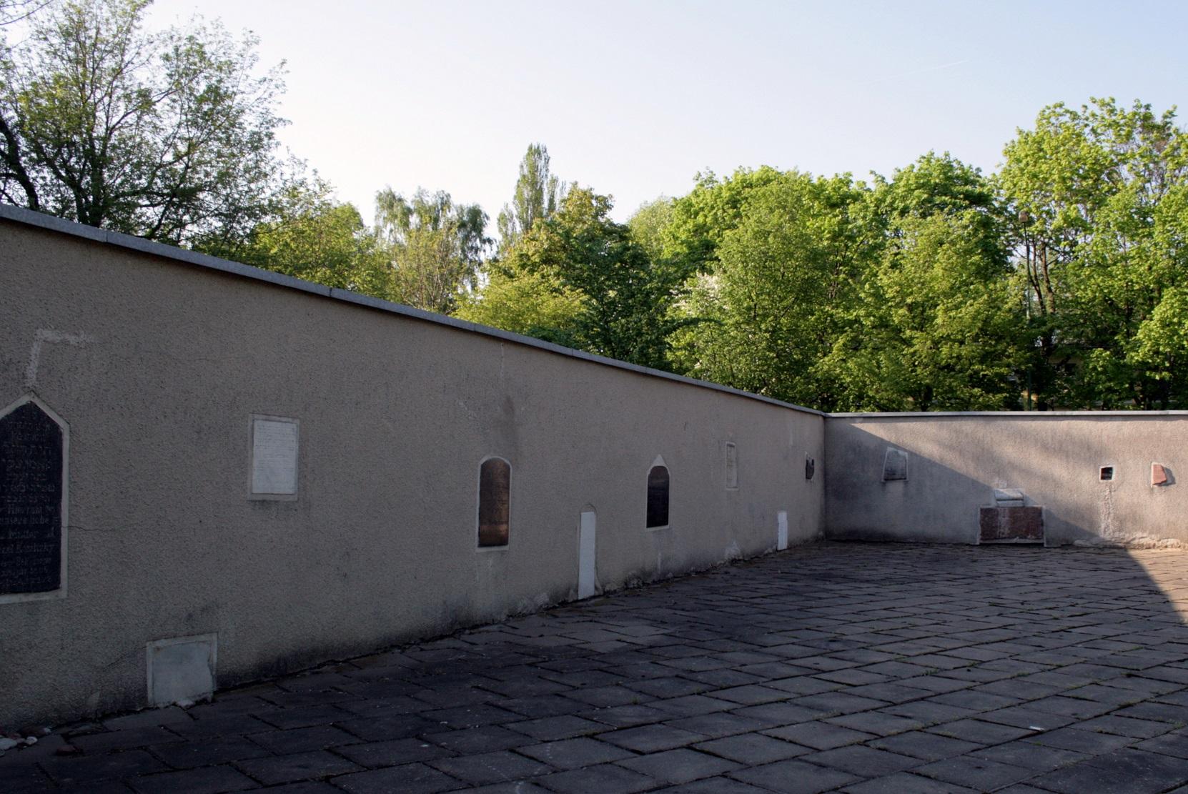 Atminimo lentos žydų bendruomenės kapinėse