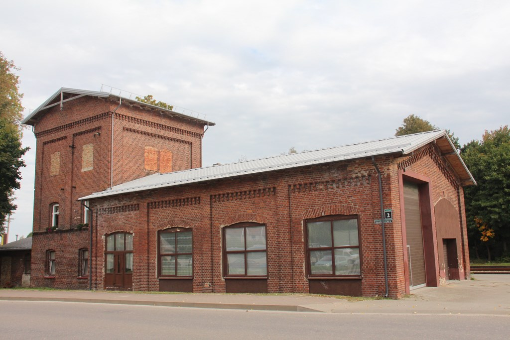 Vandentiekio pastatas