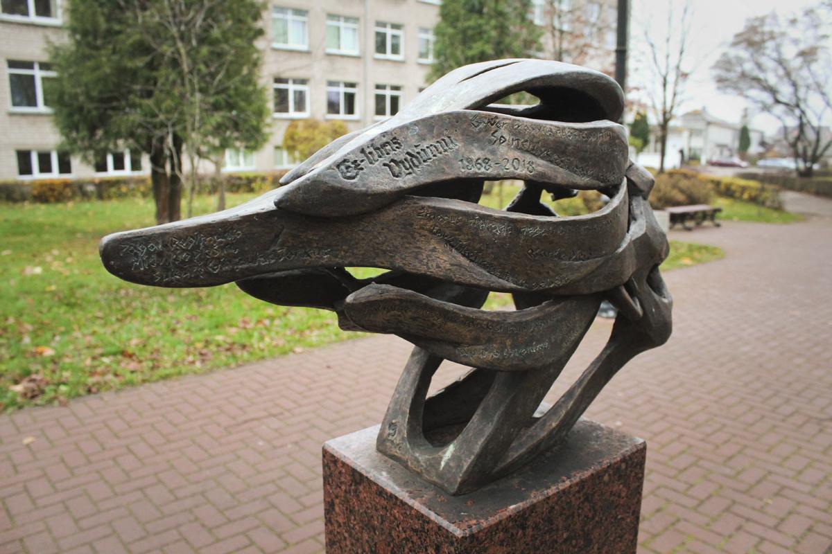 Skulptūrinis ekslibrisas Vydūnui