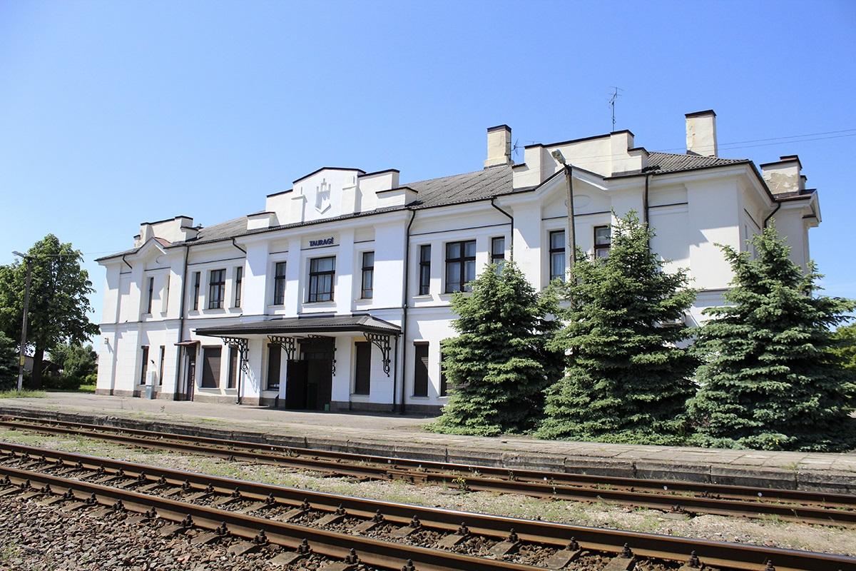 Tauragės geležinkelio stoties rūmai