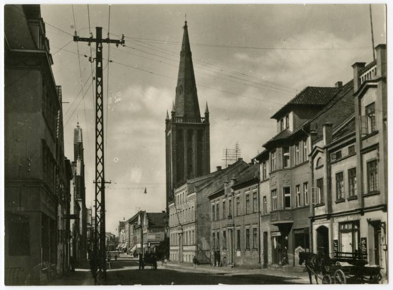 Memel. Friedrich Wilhelm-Strasse