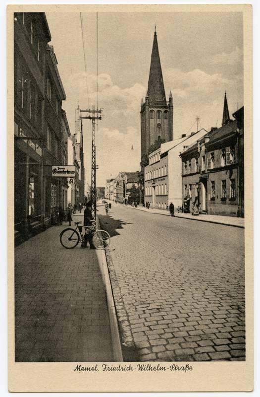 Memel. Friedrich-Wilhelm-Strasse