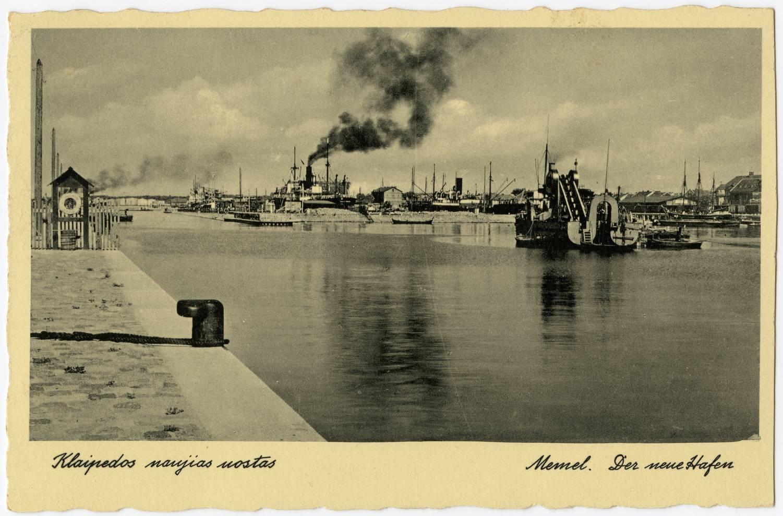 Klaipedos naujias uostas