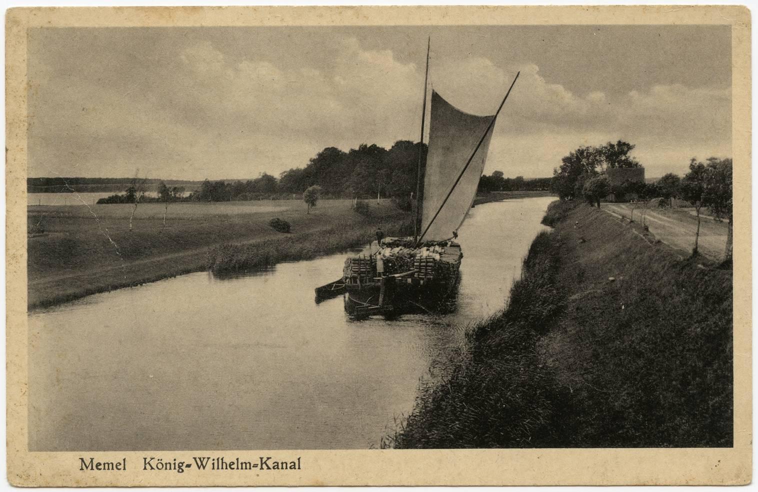Memel König-Wilhelm-Kanal